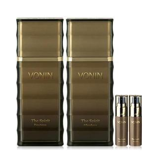 Vonin The Spirit Set: After Shave 100ml + Emulsion 100ml + After Shave 25ml + Emulsion 25ml 4pcs