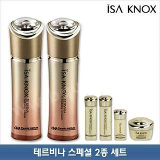 Isa Knox Te'rvina Set: Hydrating Softener 150ml + Hydrating Emulsion 150ml + Hydrating Softener 25ml + Hydrating Emulsion 25ml + Original Balance Solution 15ml + Concentrating Cream 10ml 6pcs
