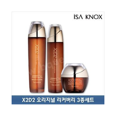 Isa Knox X2D2 Original Recovery Set: Skin 150ml + Emulsion 130ml + Cream 50ml 3pcs