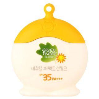 Green Finger Natural Perfect Sun Milk SPF 35 PA+++ 60ml