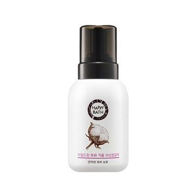 Happy Bath Mild Cotton Foam Feminine Cleanser 300ml 300ml