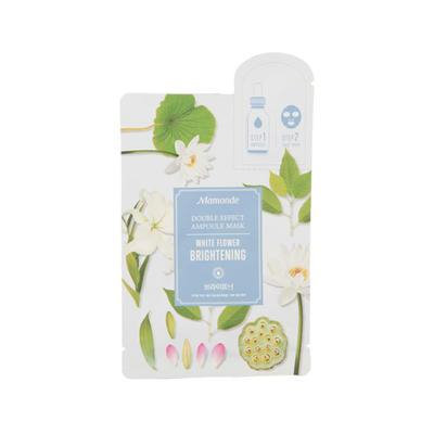 Mamonde Double Effect Ampoule Mask - Brightening