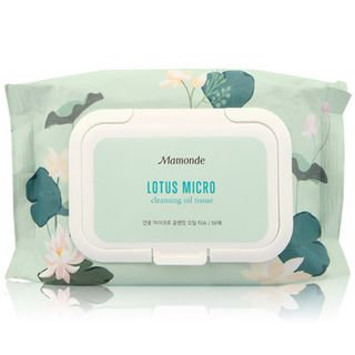 Mamonde Lotus Micro Cleansing Oil Tissue