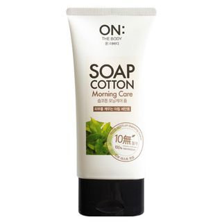 On: The Body Soap Cotton Morning Care Foam Cleanser 150ml 150ml