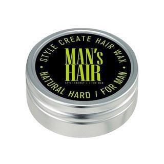 The Flower Men Energy Factory Style Create Hair Wax - Natural Hard 75ml