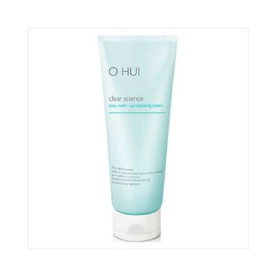 O Hui Clear Science Easy Wash Up Cleansing Cream 200ml