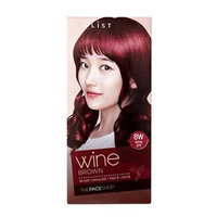 The Face Shop Stylist Silky Hair Color Cream (#8W Wine Brown) 130ml No. 8W - Wine Brown