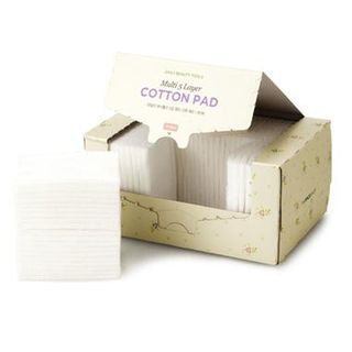 The Face Shop Daily Beauty Tools Multi 5 Layer Cotton Pad 1box - 80pcs
