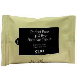 Clio Perfect Pure Lip & Eye Remover Tissue