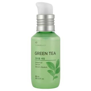 The Face Shop Baby Leaf Green Tea Waterfull Serum 60ml