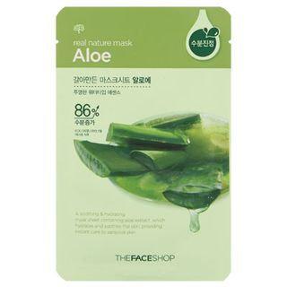 The Face Shop Real Nature Aloe Mask Sheet