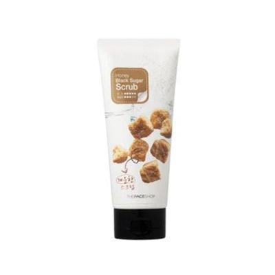 The Face Shop - Honey Black Sugar Scrub 120ml 120ml