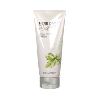 The Face Shop Herb Day 365 Cleansing Cream Foam for Men 170ml