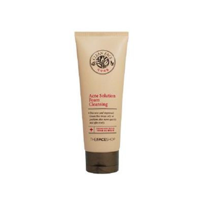 The Face Shop Clean Face Acne Solution Foam Cleansing 150ml