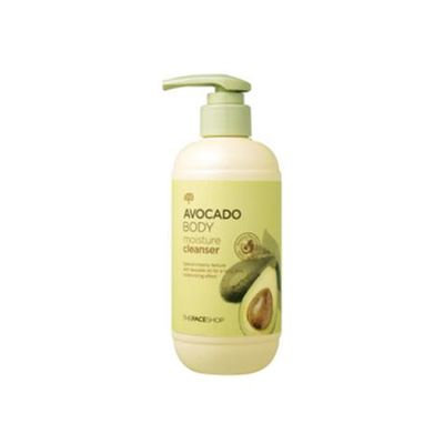 The Face Shop Avocado Body Moisture Cleanser 300ml 300ml