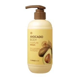 The Face Shop Avocado Body Moisture Lotion 300ml