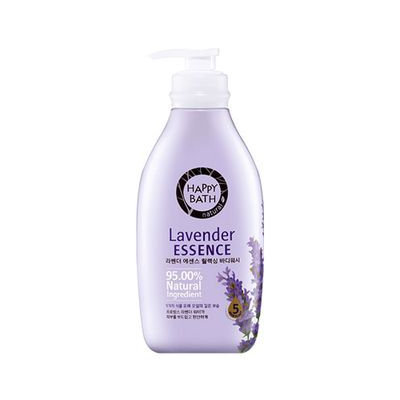 Happy Bath Lavender Essence Relaxing Body Wash 500g