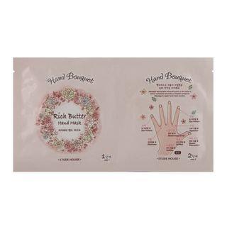 Etude House - Hand Bouquet Rich Butter Hand Mask 5 sets
