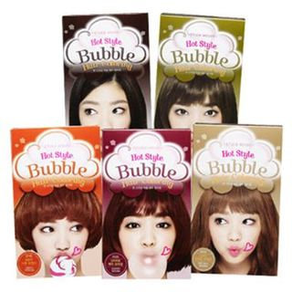 Etude House - Hot Style Bubble Hair Coloring (#BR03 Dark Choco Tone Down) 1 set