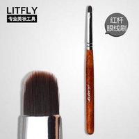 Litfly Ultra Fine Eye Liner Brush (Red) 1 pc