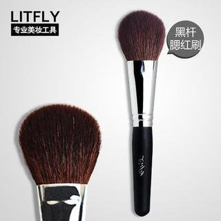 Litfly Blush Make-Up Brush (Black) 1 pc