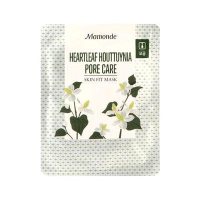 Mamonde Skin Fit Mask Heartleaf Houttuynia Pore Care