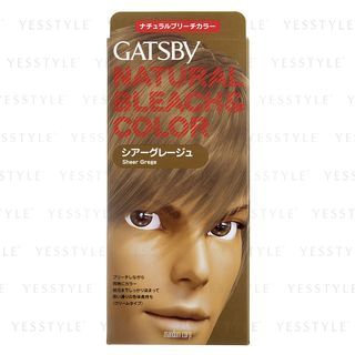Mandom - Gatsby Natural Bleach and Color (Sheer Grege) 1 set