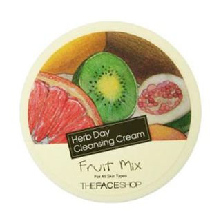 The Face Shop - Herb Day Cleansing Cream (Fruit Mix) 150ml