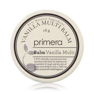 Primera Lip Balm - Vanilla Multi Balm 18g