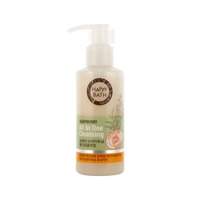 Happy Bath Soapberry All In One Cleansing 140g 140g