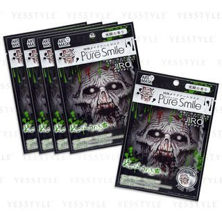 Pure Smile - JIRO Special Effects Make Up Art Mask (TypeA Zombi) 5 pcs