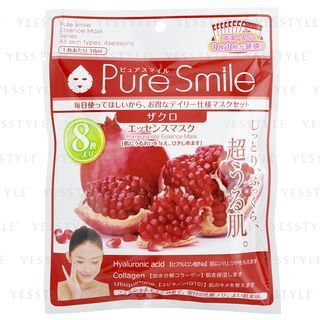 Pure Smile - Essence Mask (Pomegranate) 8 pcs