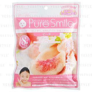 Pure Smile - Essence Mask (Peach) 8 pcs