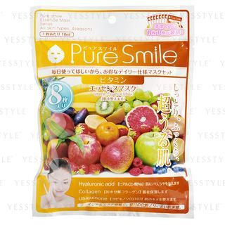 Pure Smile - Essence Mask (Vitamin) 8 pcs