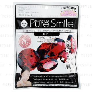 Pure Smile - Essence Mask (Ruby) 8 pcs