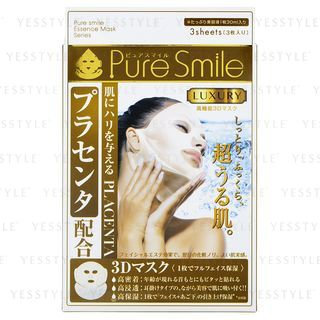 Pure Smile - 3D Luxury Mask (Placenta) 3 pcs