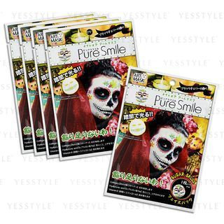 Pure Smile - Nightmare Art Mask (Sugar Skull) 5 pcs