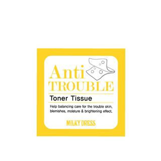 Milkydress Anti-Trouble Toner Tissue 70pcs 70pcs