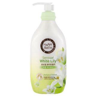 Happy Bath Sensual White Lily Perfume Body Lotion 450ml 450ml