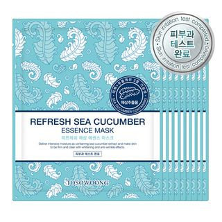 Tosowoong Refresh Sea Cucumber Essence Mask 10pc 10sheets