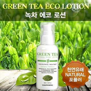 Tosowoong Green Tea Eco Lotion 100ml 100ml