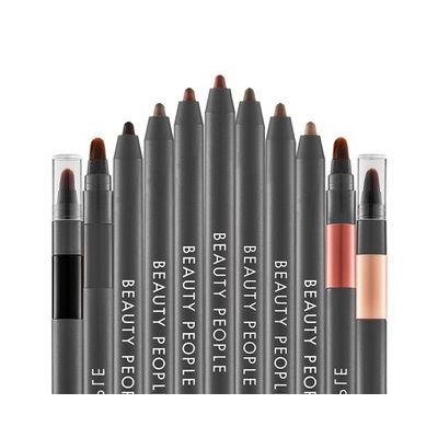 Beauty People First Highliner Brush Unit Pencil No. 10 NATALIE MARSALA