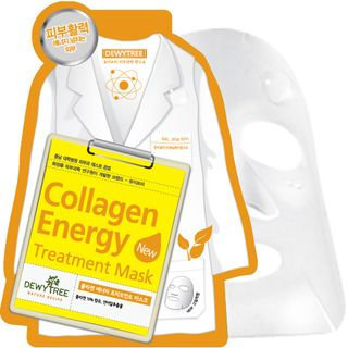 Dewytree Collagen Energy Treatment Mask 10pcs 10sheets
