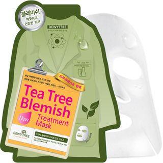 DEWYTREE - Tea Tree Blemish Solution Mask 10 pcs