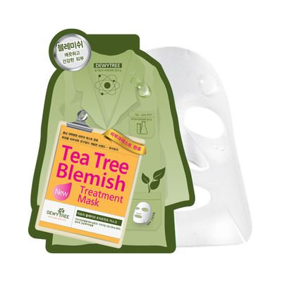 DEWYTREE - Tea Tree Blemish Solution Mask 10 pcs