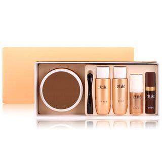 Hanyul Geuk Jin Cream Set: Cream 50ml + Skin 25ml + Emulsion 25ml + Eye Cream 5ml + Essence 7ml 5pcs