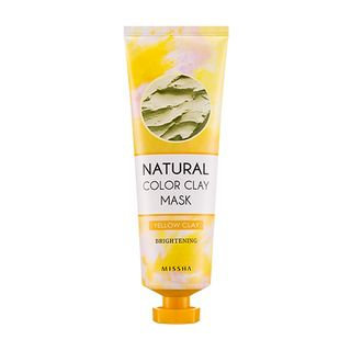 Missha Natural Color Clay Mask (Brightening) 137g