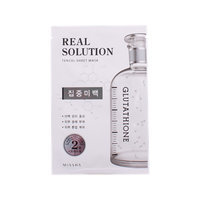 Missha Real Solution Tencil Sheet Mask (Intensive Whitening) 1pc(25g)