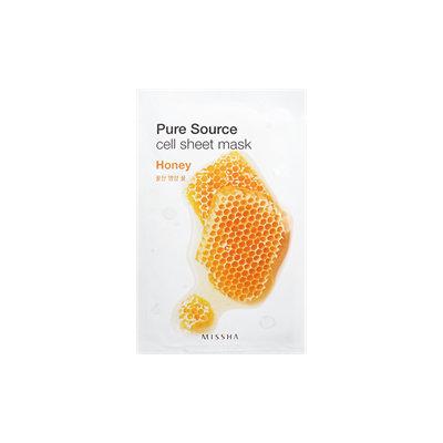 Missha Pure Source Cell Sheet Mask (Honey) 1pc(21g)