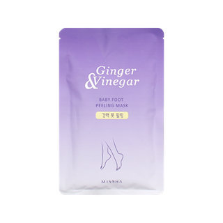 Missha Ginger & Vinegar Baby Foot Peeling Mask (1 Pair) 1pair